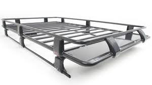 Steel Roof Rack Basket with Mesh Floor 87