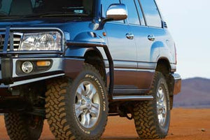 Side Rail With Flares For Toyota Land Cruiser 100 Series