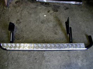 Side Steps With Flares For The Toyota Land Cruiser 100 Series