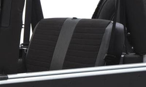 Neoprene Seat Cover Set Front&Rear - Black  YJ 91-95