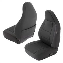 Load image into Gallery viewer, Neoprene Seat Cover Set Front&Rear - Black TJ 91-02