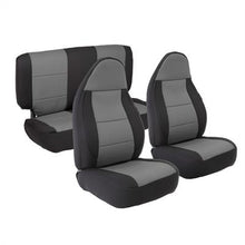 Load image into Gallery viewer, Neoprene Seat Cover Set Front&Rear - Charcoal  TJ 03-06