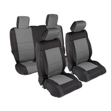 Load image into Gallery viewer, Neoprene Seat Cover Set Front&Rear - Charcoal   JK 07-12