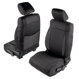 Neoprene Seat Cover Set Front&Rear - Black  JK 13-18