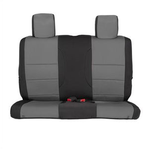 Neoprene Seat Cover Set Front&Rear - Charcoal   JK 13-18