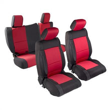 Load image into Gallery viewer, Neoprene Seat Cover Set Front&Rear - Red  JKU 13-18