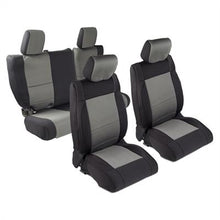 Load image into Gallery viewer, Neoprene Seat Cover Set Front&Rear - Charcoal   JKU 08-12