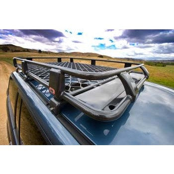 Alloy Roof Rack Basket 70 x 44in - with Mesh Floor