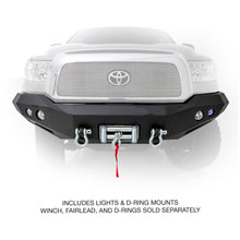 Load image into Gallery viewer, M1 Truck Bumper - Front -w/Pair of S4 spot and flood lights  Tundra 07-13