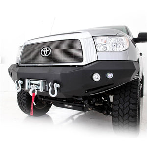 M1 Truck Bumper - Front -w/Pair of S4 spot and flood lights  Tundra 07-13