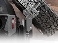 Slant Tire Carrier Kit