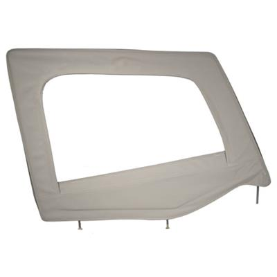 Door Skin W/ Frame - Passenger Side - Denim Gray YJ 87-95