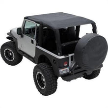 Load image into Gallery viewer, Extended Top - Denim Black YJ 92-95