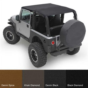 Extended Top - Black Diamond TJ 97-06