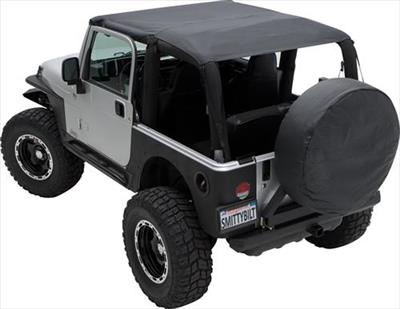 Extended Top for Wrangler JK, black diamond