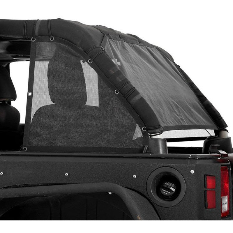 Cloak Extended Mesh Top Sides/Rear JK 07-18