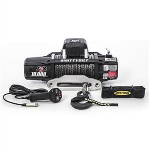 X2O 10 Comp - Gen2 - 10,000 lb. Winch - Comp Series W/Synthetic Rope & Aluminum  Fairlead