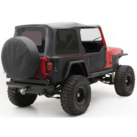 Soft Top - Oem Replacement W/Tinted Windows - Denim Black YJ 87-95