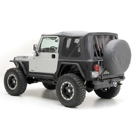 Soft Top - Oem Replacement W/Tinted Windows - Black Diamond TJ 97-06