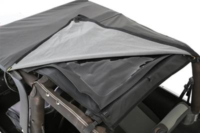 BOWLESS COMBO TOP W/TINTED WINDOWS - BLACK DIAMOND JEEP, 97-06 WRANGLER (TJ)