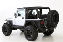 Load image into Gallery viewer, BOWLESS COMBO TOP W/TINTED WINDOWS - BLACK DIAMOND JEEP, 07-17 WRANGLER (JK) 2 DOOR