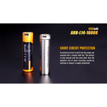 Load image into Gallery viewer, ARB-L14-1600U USB Rechargeable Li-ion 14500 Battery