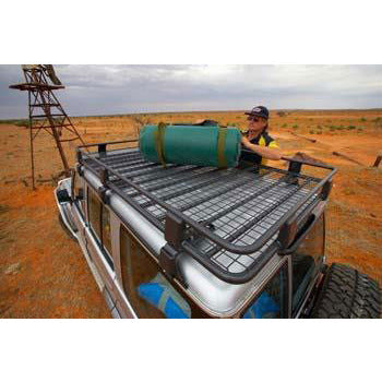 Steel Roof Rack 87 x 44in - with Mesh Floor