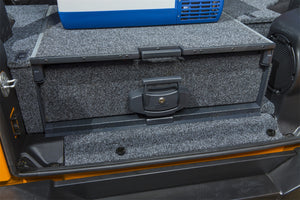 JKU - Outback Solutions Single Roller Drawer with Roller Floor with carpet trim