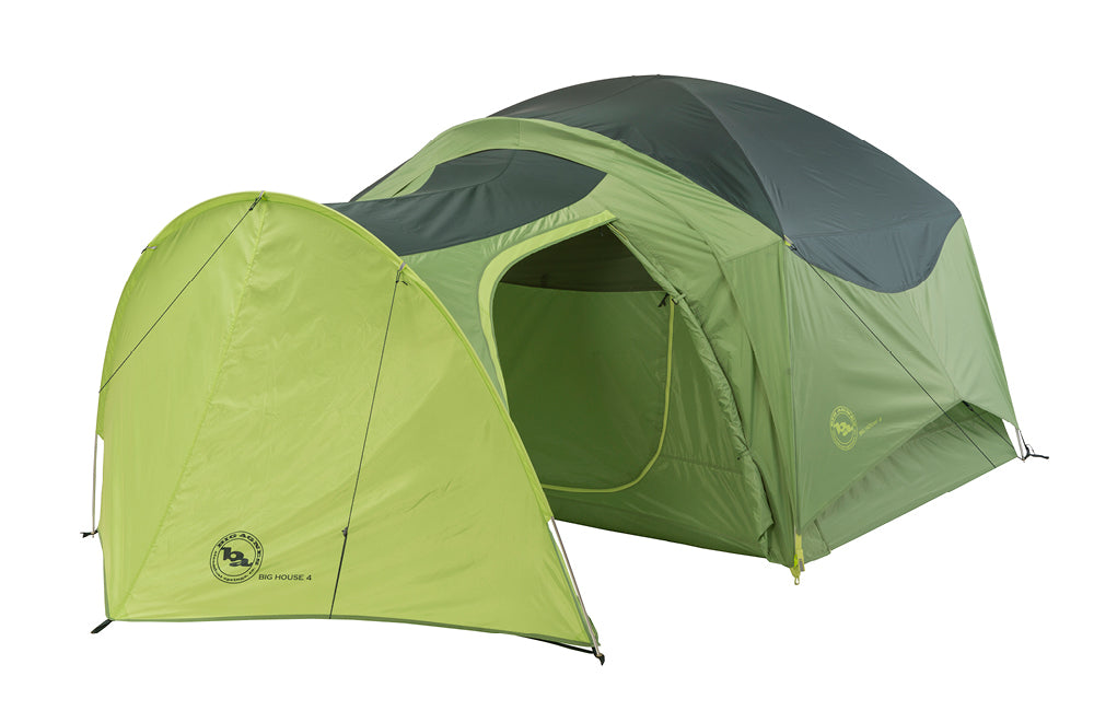 A vestibule that attaches to the Big House 4 tent