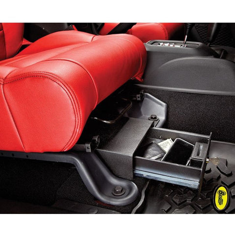 Underseat Lock Box for Passenger Side JK/JKU 07-16