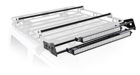 4' Defender Rack Led Light Bar Mount Kit