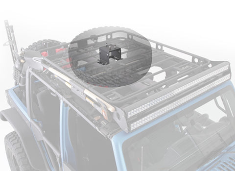 Defender Roof Rack Spare Tire Mount  5X5.5 Lug Pattern