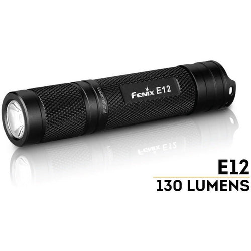 E12 LED Flashlight