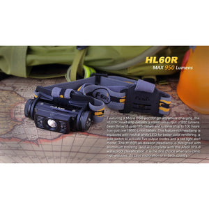 HL60R Rechargeable LED Headlamp