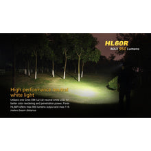 Load image into Gallery viewer, HL60R Rechargeable LED Headlamp