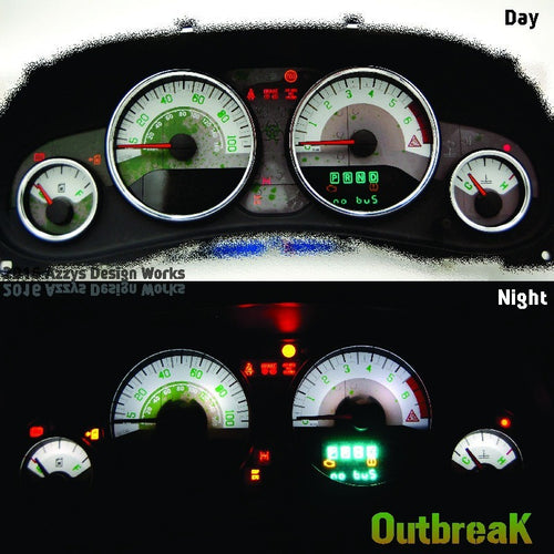 JK/JKU Gauge Kit - Outbreak