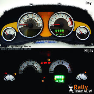 JK/JKU Gauge Kit - Rally