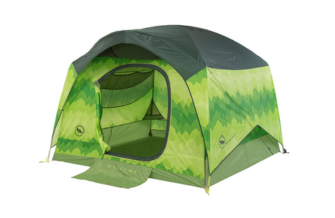Big House 4 with Green Print 4 man tent
