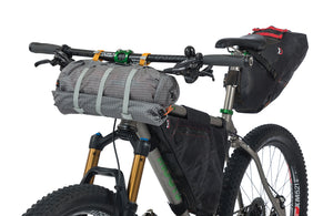 Copper Spur HV UL2 Bikepack Attached to Handlebars