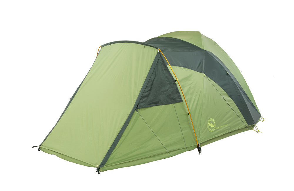 Keep your camping gear dry with the vestibule