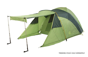 Large Family Camping tent with built in vestibule