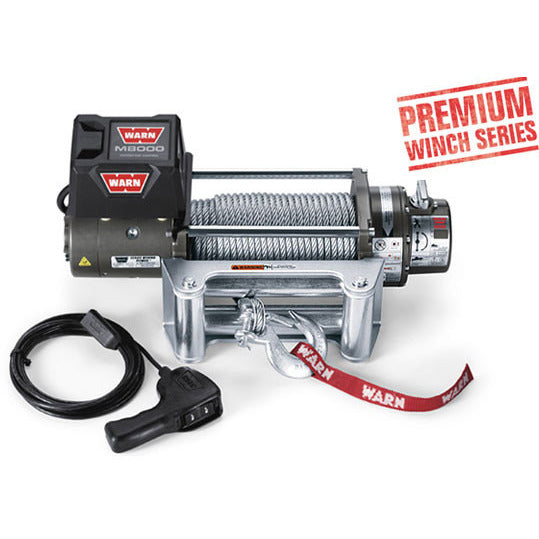 M8000 Self-Recovery Winch 8000 lbs