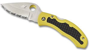 Snap-It Salt Folding Knife, Yellow