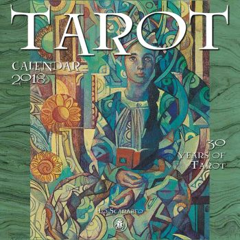 2018 30 Years Of Tarot Calendar Books Mystical Moons