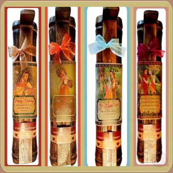7 Chakra Stick Incense & Burner Gift Sets Mystical Moons