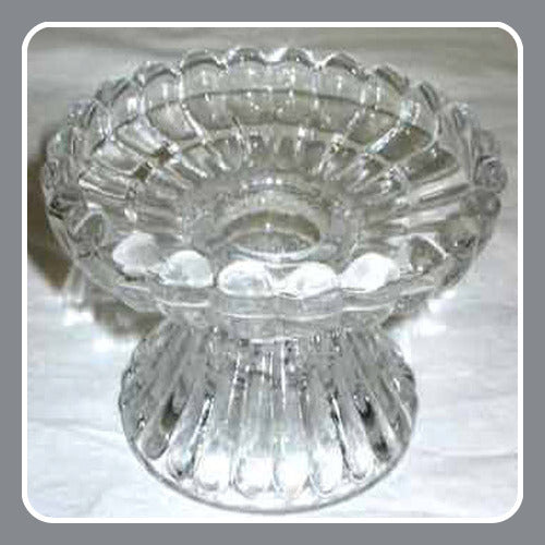 Universal Fluted Glass Candle Holder