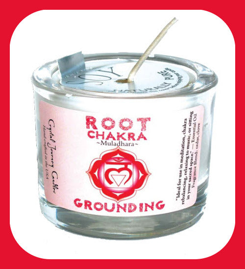 Root Chakra Soy Votive Candle