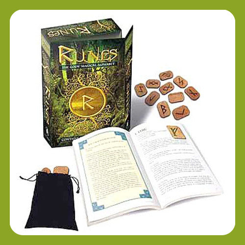 Gods Magical Alphabet Runes Kit
