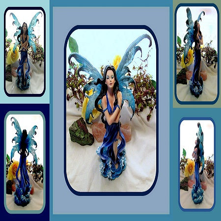 Elemental Water Fairy Statue