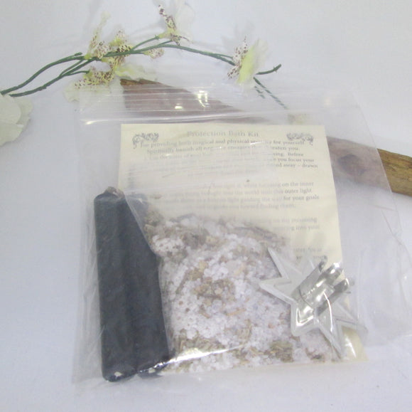 Protection Herbal Sea Salt Bath Mini Kit
